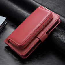 Leather Wallet for iPhone 6 7 Plus Magnetic Card Holder Clutch Purse Case Cover