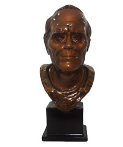 "Terry Bradshaw Pittsburgh Steelers Pro Football HOF 4 3/4"" Mini Bust w/Box"