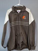 Cleveland Browns Men's Jacket Size L Sports Illustrated Windbreaker Jacket NFL
