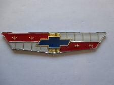 61 CHEV BOOT BADGE INSERT 1961 NEW CHEVROLET IMPALA BELAIR EMBLEM TRUNK 283