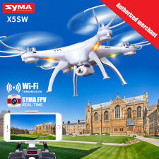 SYMA X5SW Drone with WiFi Camera Transmit FPV Quadcopter 2.4G 4CH RC Helicopter