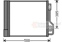Condenseur à air conditionné - Van Wezel 29005013