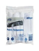 Tork Advanced Plastic Teaspoons 100 Pack