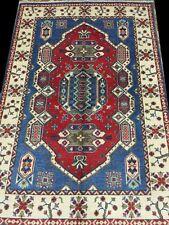 Kazak Rare Quality Elegant Lowest Price Area Rugs Handmade Rug 4 x 6