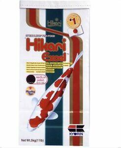 Hikari Excel Medium - 5Kg 5.0-5.5mm Pellet For Goldfish & Koi Fish Food Enhancer