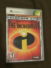 Original Microsoft XBox Video Game Platinum Hits Disneys The Incredibles Rated T
