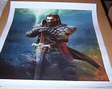 Dragon Age: Inquisition Followers Lithograph - Blackwall  -NEW!- # 10 / 500