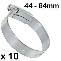 10 x Dishwasher Washing Machine Drain Hose Jubilee Pipe Clip Small 16-25mm