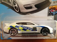 NEW 2018 Hot Wheels Porsche Panamera Police Metro Series RARE