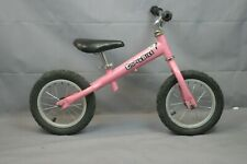 "Kinderbike 12"" Kids Balance Bike 2000's SS Single Adjustable Steel USA Charity!"