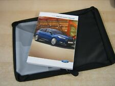 FORD FOCUS  OWNERS MANUAL -OWNERS HANDBOOK 2013-2016 COVERS AUDIO +WALLET OS19