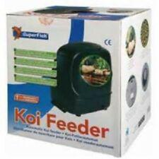 SUPERFISH KOI PRO AUTOMATIC POND FISH FEEDER DIGITAL HOLIDAY FEEDING DISPENSER