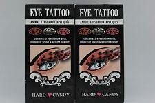 2x Hard Candy Eye Tattoo Animal Eye Shadow Appliques - 123 Animal (NEW)