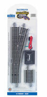 Bachmann 44558 EZ-Track #4 Turnout Right w/ Nickel Silver Rails HO Scale
