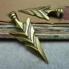 10pcs Antique Bronze Style Charm Arrow Fashion Vintage 20*46mm Pendants Hot P374