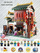 XB-01001 Silk Zhuang Silk and Fabric Shop Store XingBao Building Blocks 2787 Pcs