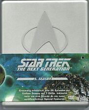 Star Trek Next Generation Season 5 Hartbox Silberbox Deutsche Ausgabe
