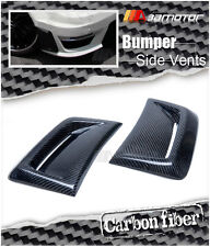 Carbon Fiber Front Side Vent Covers for Mercedes W204 C63 Facelift AMG Bumper
