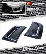 Carbon Fiber Front Side Vent Covers for Mercedes W204 C63 Facelift AMG Bumper
