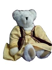 "Vintage 16"" Vermont Teddy Bear Jointed White"