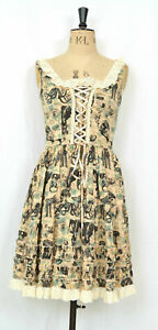 Lovecraft Dress Hellbunny XS  Octopus Victorian Vintage apothacary