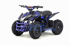 Titan Kids Electric Blue Mini Outdoor Quad Ride On Atv