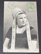 CPA 1919 CARTE POSTALE BELGE TYPE DE HOLLANDAISE HOLLAND