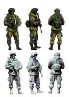 1/35 Modern Russian Soldier Figure Unpainted Unassembled Resin Kit