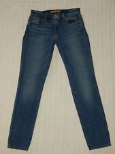 JOE'S ― Womens 24 ― BOYFRIEND SLIM CROP Violet Denim Jeans ― #AN80 *Skinny Capri