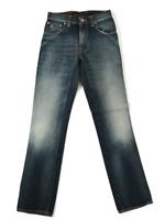 Nudie Herren Slim Straight Fit Jeans |Slim Jim Crispy Scraped