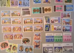 JERSEY * GB REGIONAL -  1970s -1999  MNH Collection Huge Face Value See 4 Scans