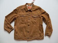 Levi's Jacke, Jeansjacke, Gr. XXL, NEU ! ocker braun coloured Denim, 6 Taschen !