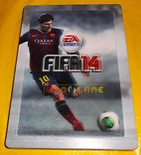 FIFA 14 - Confezione in Metallo (Olografica, Messi) - Steelbook ○ NO GIOCO