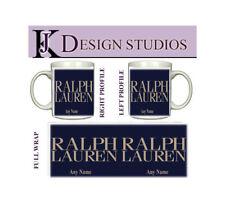 Ralph Lauren 2  Personalised Fan Mug