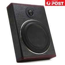 "8"" 600W Slim Active Car Under Seat Subwoofer Super Bass Speaker Sub Woofer Box"