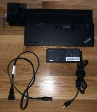 LENOVA ThinkPad ULTRA Dock 40A2 DOCKING Station 90W PN 04W3956 SD20A06046 w KEY!