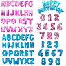 "16"" A-Z Letter Foil Balloons & 40"" Numbers Birthday Wedding Banner Party Decor"