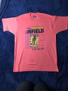 Vintage T-Shirt 1995 Preakness Infield Concert Pimlico Single Stitch Size Large