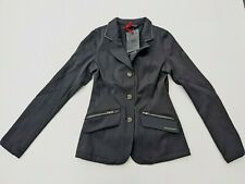 HORSEWARE Knitted Ladies Competition Jacket in Black - SIZE XS