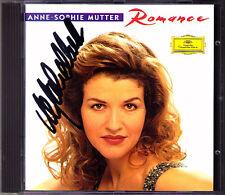 Anne-Sophie MUTTER Signed ROMANCE Karajan Levine DG CD Faure Wieniawski Massenet