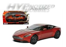 MOTOR MAX 1:24 ASTON MARTIN DB11 DIE-CAST METALLIC ORANGE 79345OR
