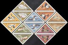 Mongolia 1973 Birds/Ducks/Swans/Geese/Waterfowl/Nature 7v set t-b prs (n17526)