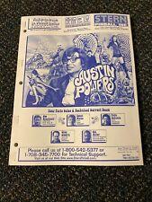 2001 Stern Austin Powers Pinball Manual W/ 2 Austin Powers Flyers Nos