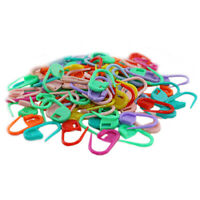 100PCS Knitting Crochet Locking Stitch Needle Clip Markers Holder Tools