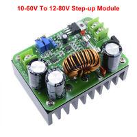 600W 15A DC 10-60V auf 12-80V 10A Boost Voltage Converter Step-up Wandler Module
