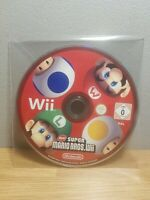 New Super Mario Bros. (Nintendo Wii, 2009) DISC ONLY VGC (Fast & Free Post)