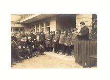 AK ORT ? Feier Rede Festlichkeit 1928 , Poststempel München > Breslau Nord-Hotel