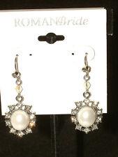 #1249 Sensational Drop/Dangle Earrings From Roman Bride,Designed For Pierced Ear