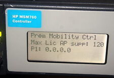 HP Mobility J9420A MSM760 Premium Mobility Controller With 120 Active AP License