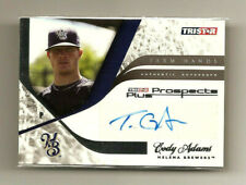 Cody Adams 2008 Tristar Prospects Plus #FH-CA NM/MT+ AUTO Signed Helena Brewers